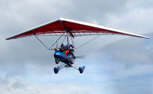 light sport trike flying