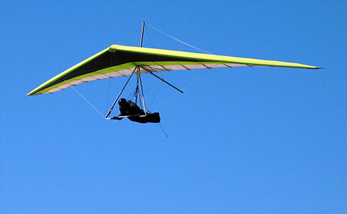 motorized hang gliding