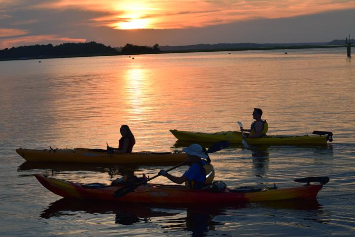 amelia island kayak excursions florida